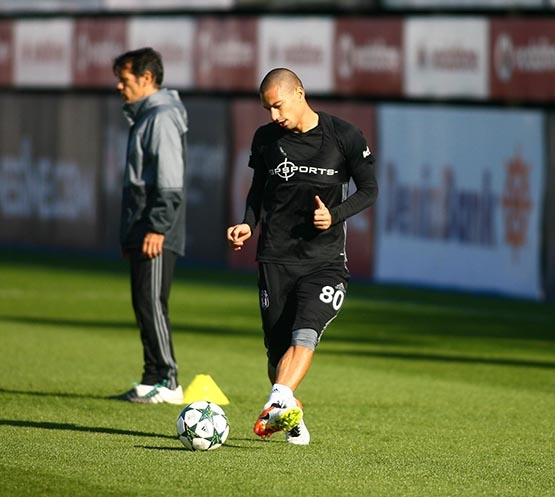 Beşiktaş'ta Benfica maçı hazırlıkları başladı 8