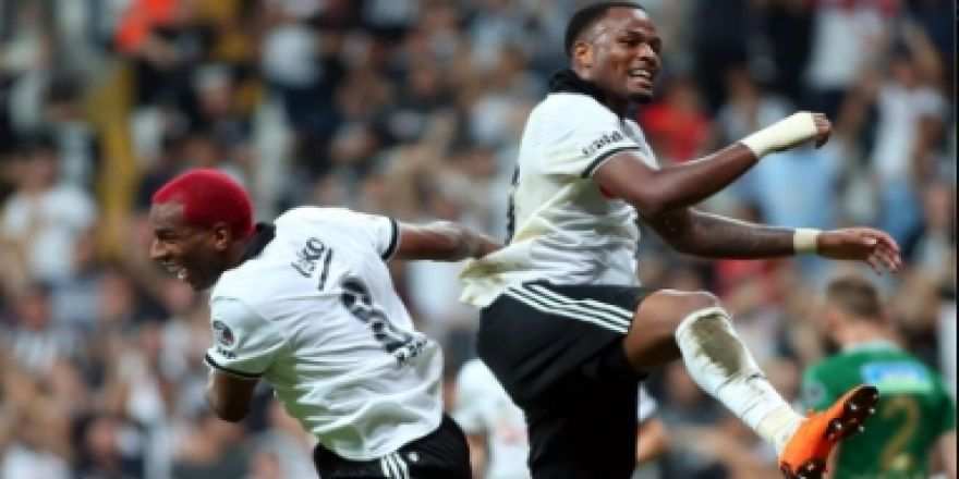 İşte kare kare Babel ve Pepe'nin gol sevinçleri