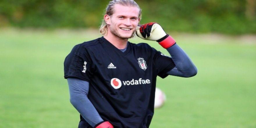 Loris Karius Beşiktaş'ta ilk antrenmanına çıktı