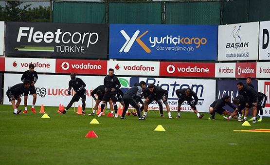 Beşiktaş'ın son antrenmanından kareler 10