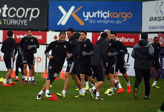 Beşiktaş'ın son antrenmanından kareler 14