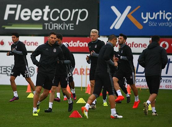 Beşiktaş'ın son antrenmanından kareler 15