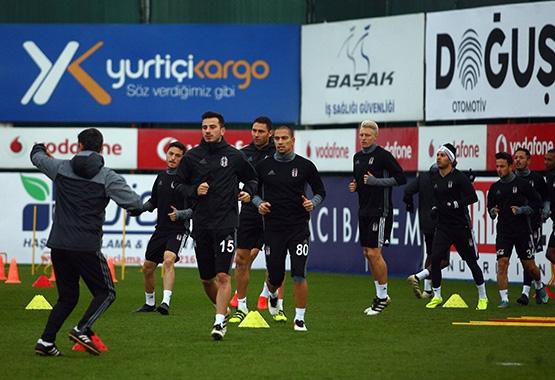 Beşiktaş'ın son antrenmanından kareler 16