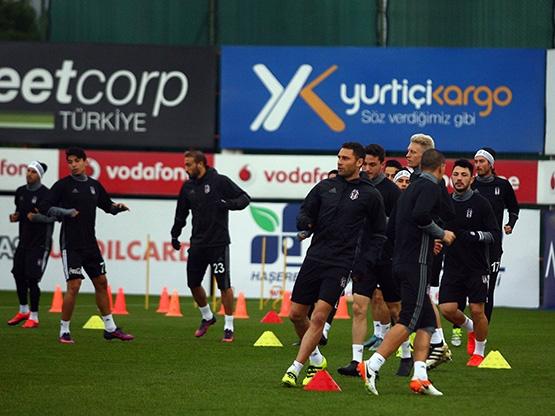 Beşiktaş'ın son antrenmanından kareler 19