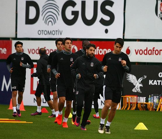 Beşiktaş'ın son antrenmanından kareler 2