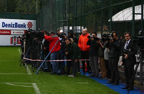 Beşiktaş'ın son antrenmanından kareler 5