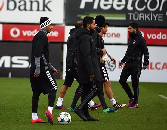 Beşiktaş'ın son antrenmanından kareler 7
