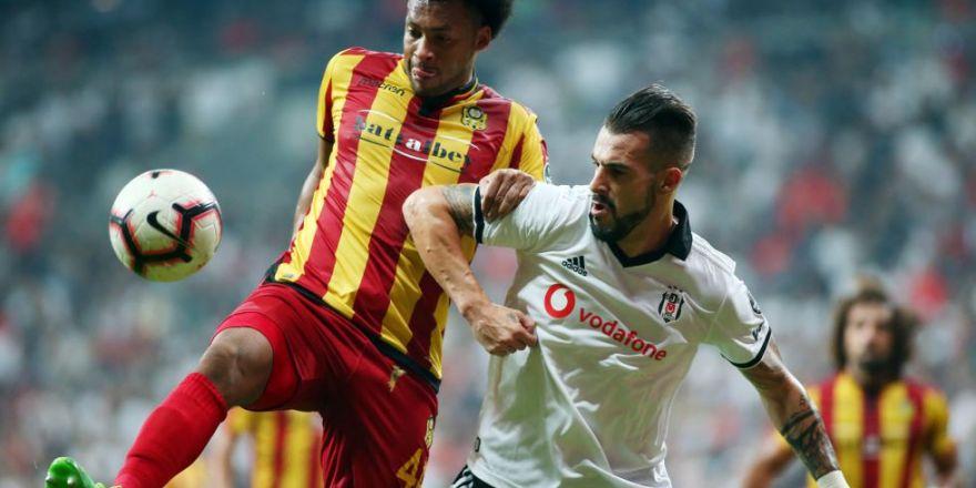 Beşiktaş - Yeni Malatyaspor maçından kareler