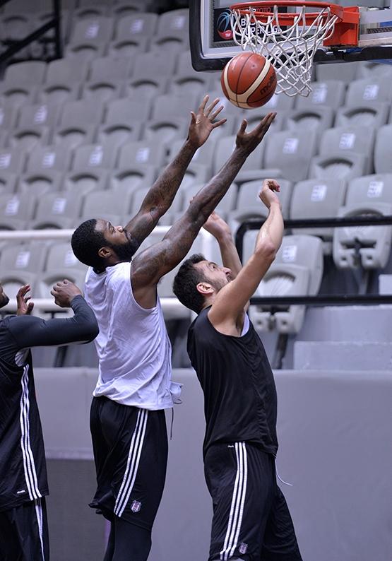 Beşiktaş'ta Szolnoki Olaj maçı hazırlıkları başladı 2