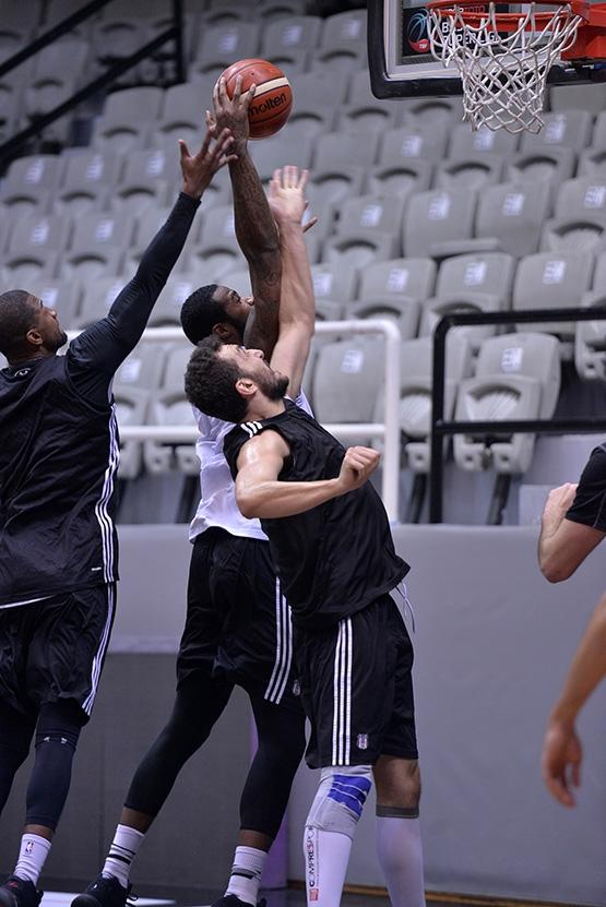 Beşiktaş'ta Szolnoki Olaj maçı hazırlıkları başladı 4