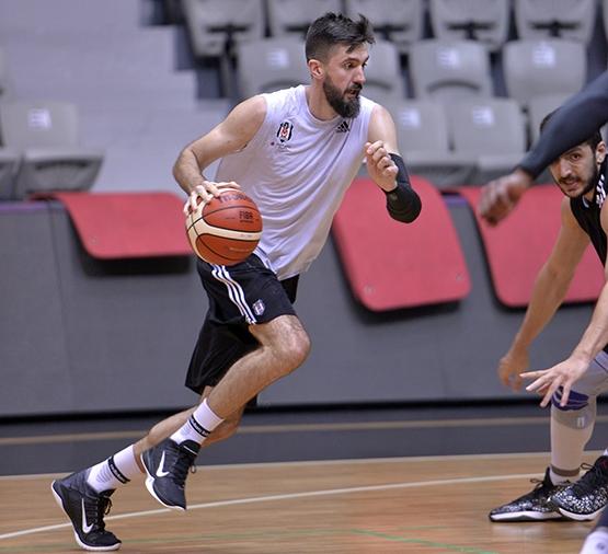 Beşiktaş'ta Szolnoki Olaj maçı hazırlıkları başladı 5
