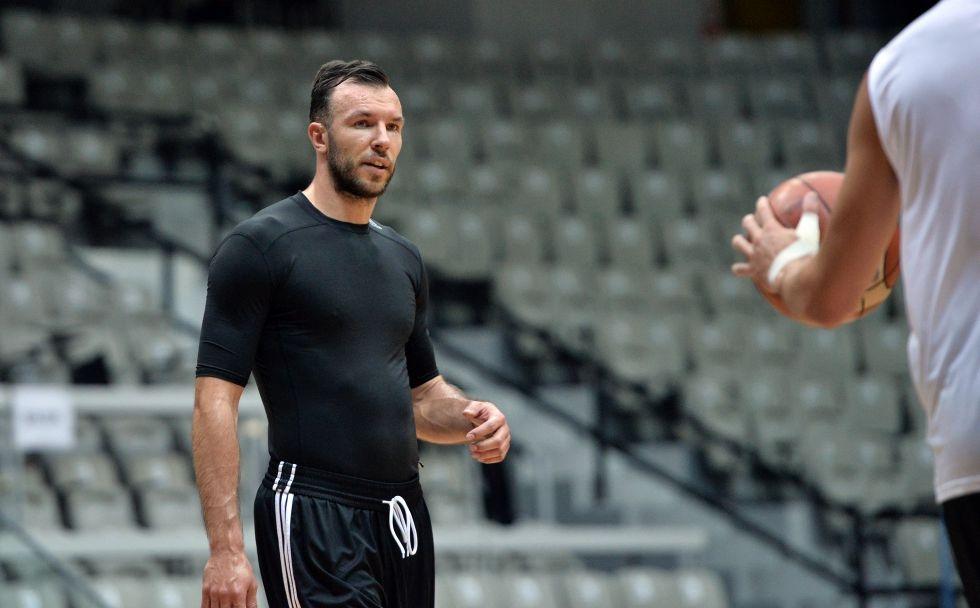 Beşiktaş Sompo Japan antrenmanından kareler 1
