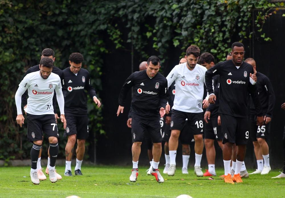 Malmö maçı öncesi İstanbul'daki son antrenmandan kareler 1