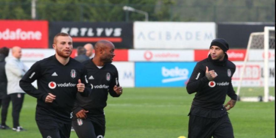 Beşiktaş antrenmanından kareler