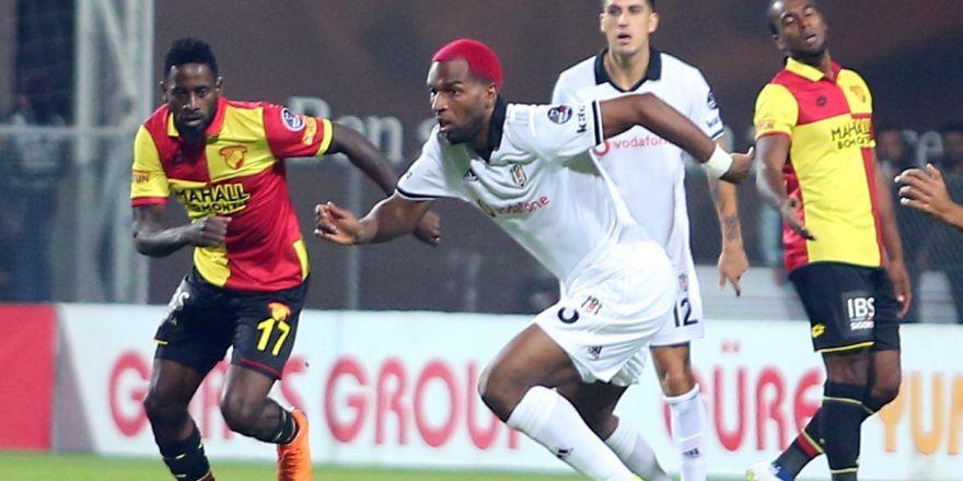Göztepe - Beşiktaş maçından kareler