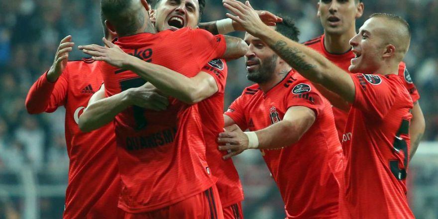 Beşiktaş - Çaykur Rizespor maçının ilk yarısından kareler