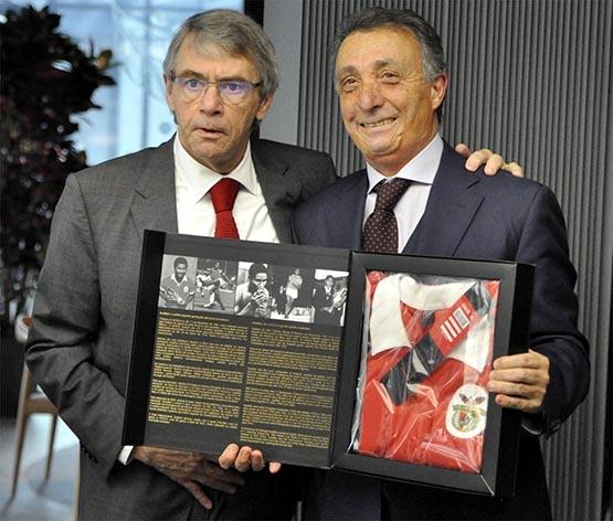UEFA ve Benfica heyetleri dostluk yemeğinde buluştu 7