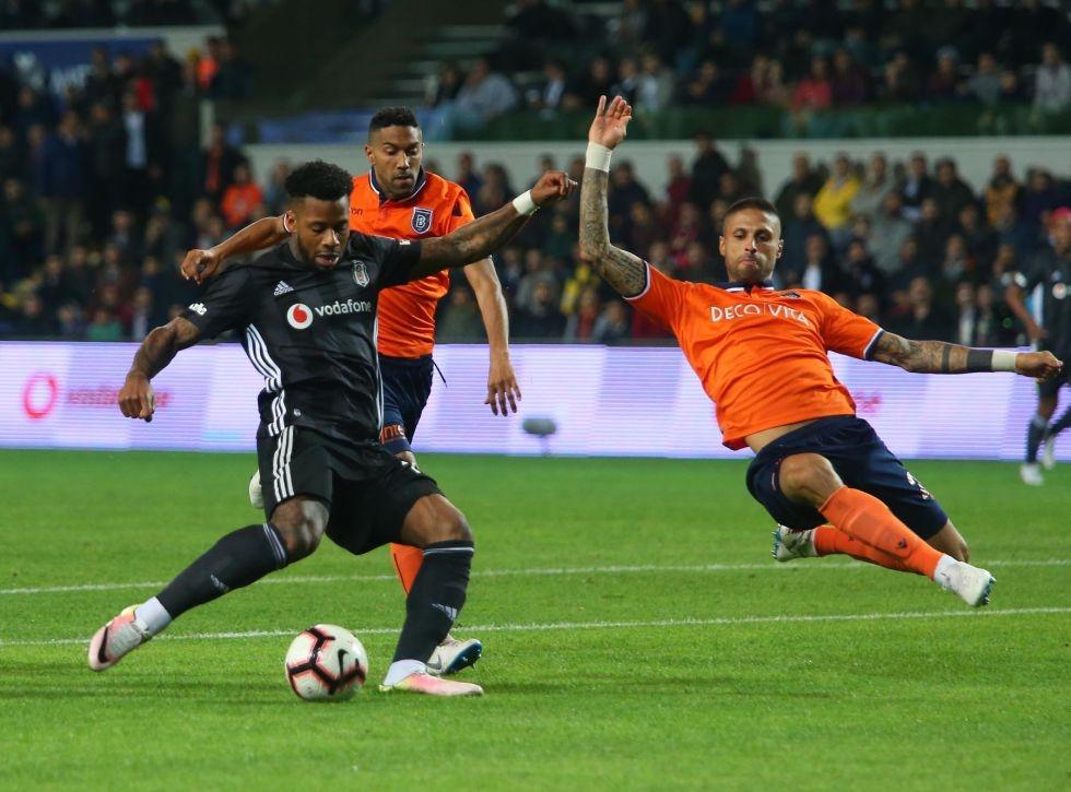 Başakşehir Beşiktaş maçından kareler 1