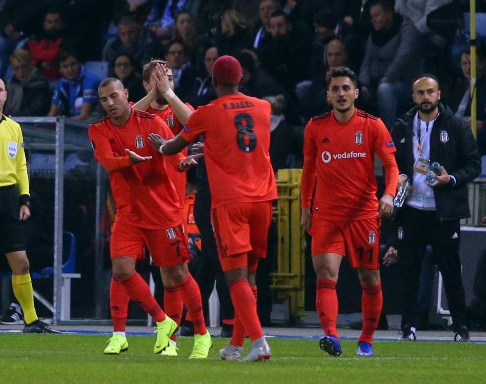 Genk - Beşiktaş maçından kareler 1