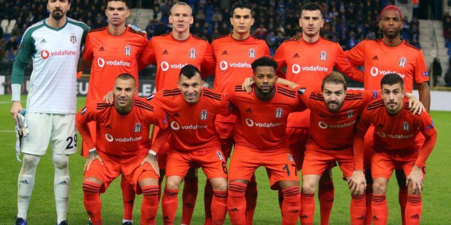 Genk - Beşiktaş maçından kareler