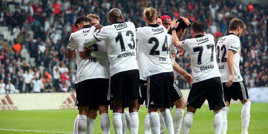 İşte Beşiktaş - Sivasspor maçından kareler