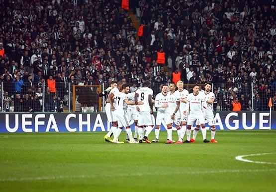 Beşiktaş-Benfica maçından kareler 10