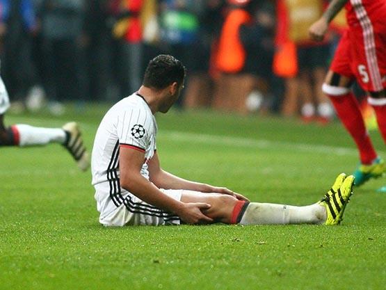 Beşiktaş-Benfica maçından kareler 12