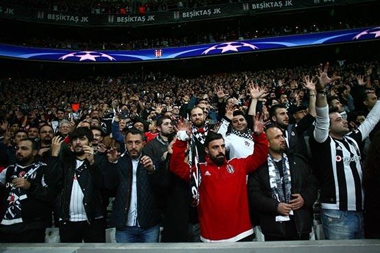 Beşiktaş-Benfica maçından kareler 13