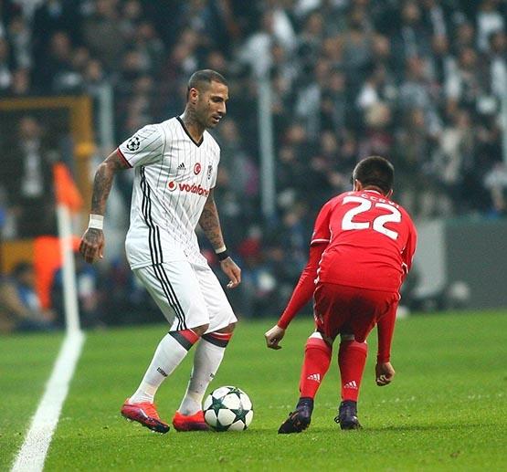 Beşiktaş-Benfica maçından kareler 16