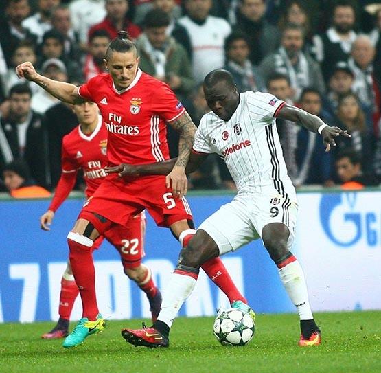 Beşiktaş-Benfica maçından kareler 20