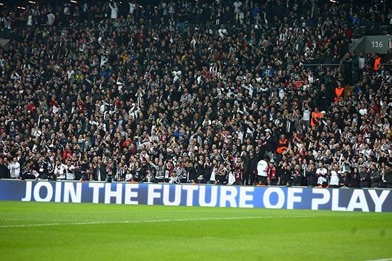 Beşiktaş-Benfica maçından kareler 22