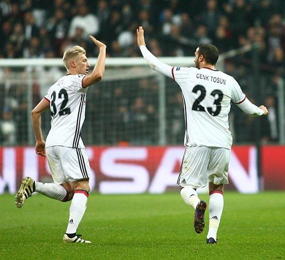 Beşiktaş-Benfica maçından kareler 23