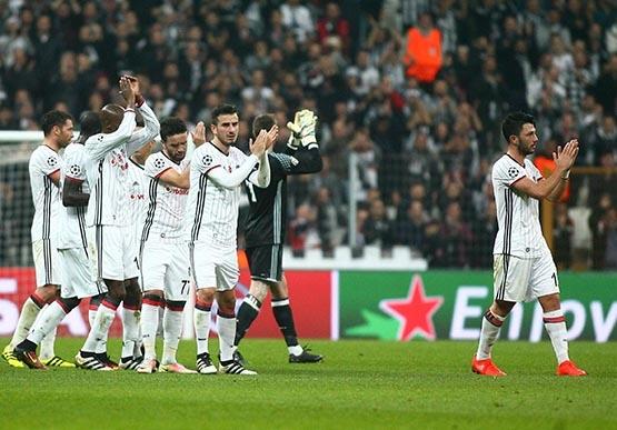 Beşiktaş-Benfica maçından kareler 24