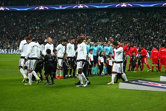Beşiktaş-Benfica maçından kareler 25