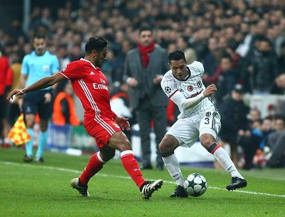 Beşiktaş-Benfica maçından kareler 26