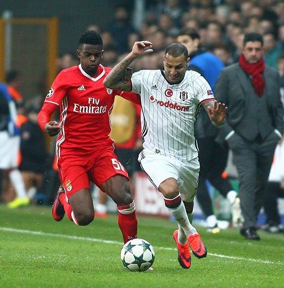 Beşiktaş-Benfica maçından kareler 29