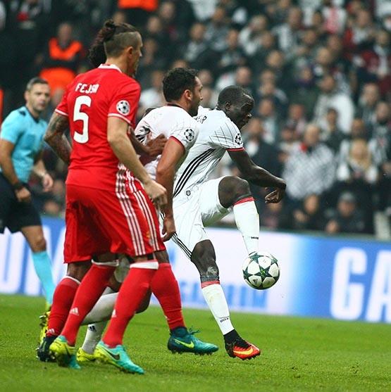 Beşiktaş-Benfica maçından kareler 3