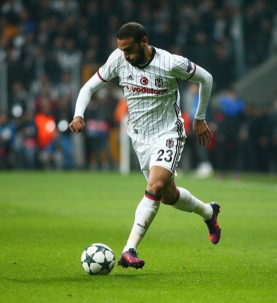 Beşiktaş-Benfica maçından kareler 31