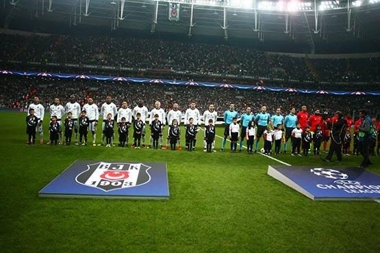 Beşiktaş-Benfica maçından kareler 32