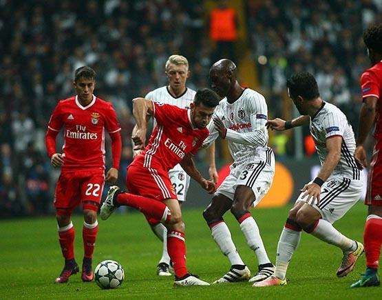 Beşiktaş-Benfica maçından kareler 34