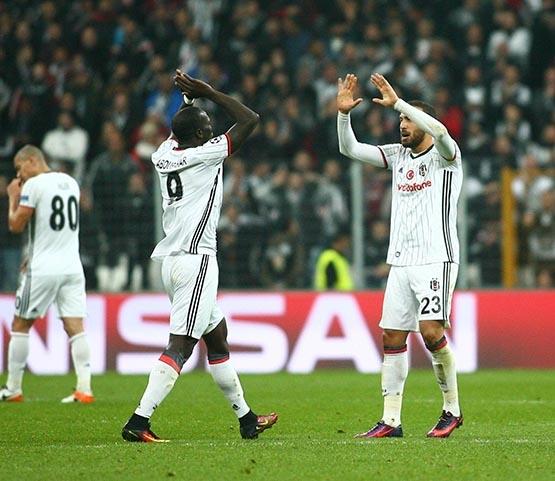 Beşiktaş-Benfica maçından kareler 36