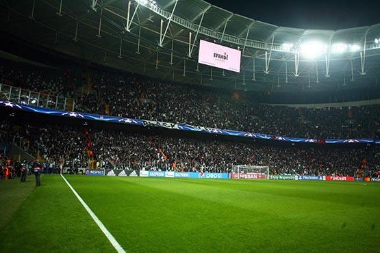 Beşiktaş-Benfica maçından kareler 37