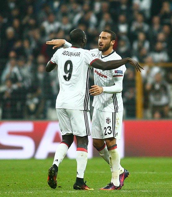 Beşiktaş-Benfica maçından kareler 39