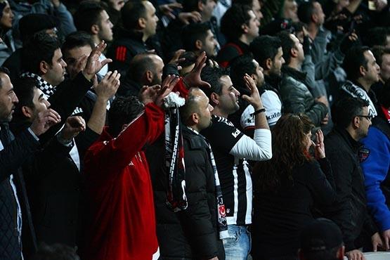 Beşiktaş-Benfica maçından kareler 40