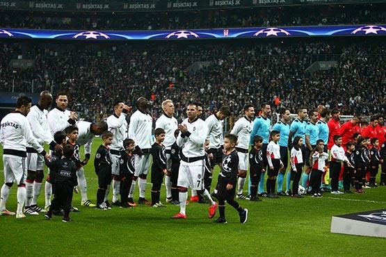 Beşiktaş-Benfica maçından kareler 42