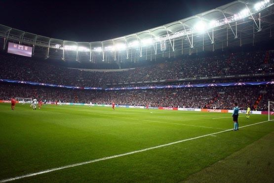 Beşiktaş-Benfica maçından kareler 43