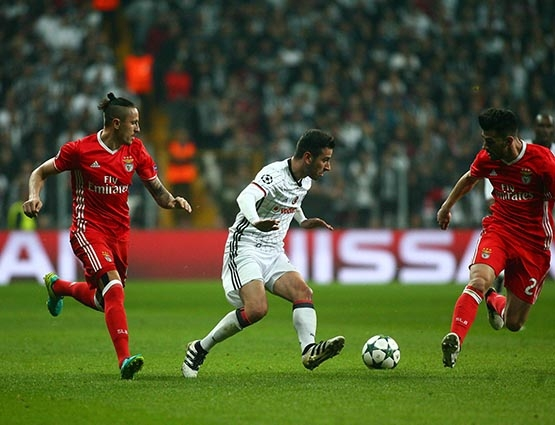 Beşiktaş-Benfica maçından kareler 44