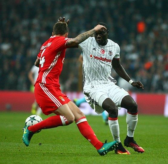 Beşiktaş-Benfica maçından kareler 48