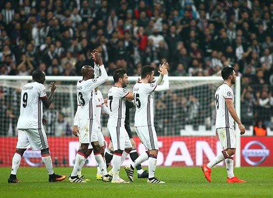 Beşiktaş-Benfica maçından kareler 5