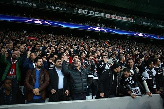 Beşiktaş-Benfica maçından kareler 51
